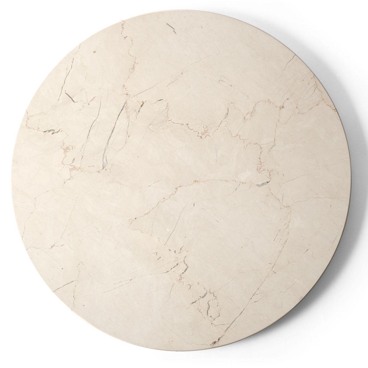 menu - Marmorplatte für Androgyne Beistelltisch