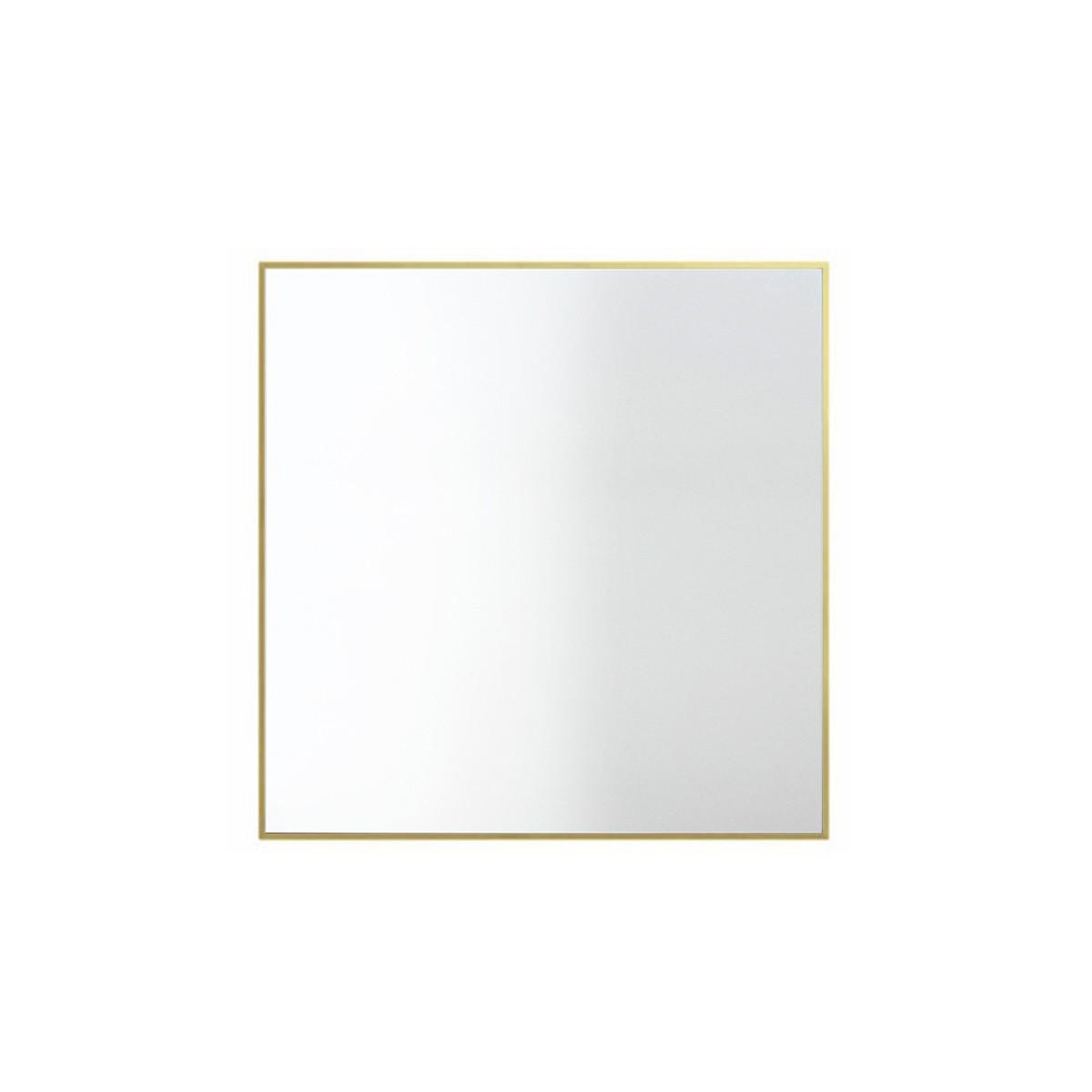 by lassen view spiegel mittel messing wandspiegel 56x56. Black Bedroom Furniture Sets. Home Design Ideas