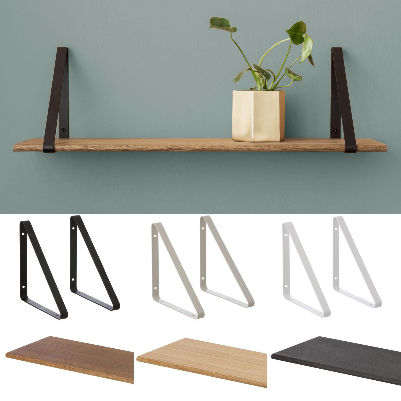 ferm living regalboden eiche ge lt ohne aufh ngung. Black Bedroom Furniture Sets. Home Design Ideas