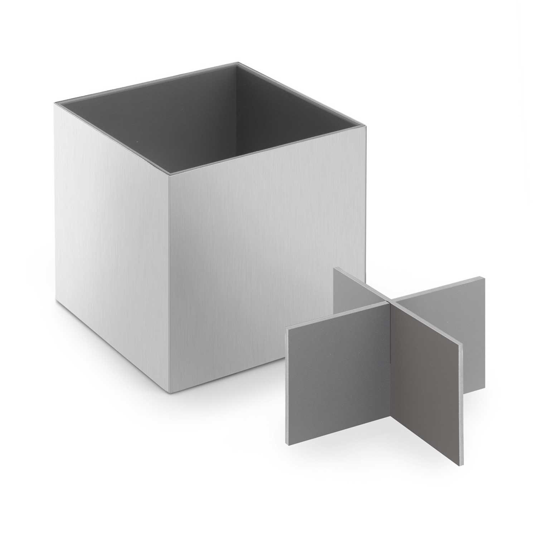 zack utensilienbox gro xero edelstahl 40012 utensilien box k cher ebay. Black Bedroom Furniture Sets. Home Design Ideas