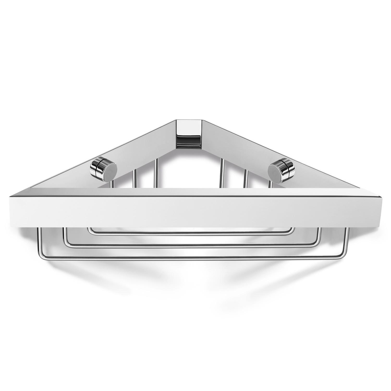 zack eckduschkorb linea edelstahl poliert 40042 duschkorb ebay. Black Bedroom Furniture Sets. Home Design Ideas