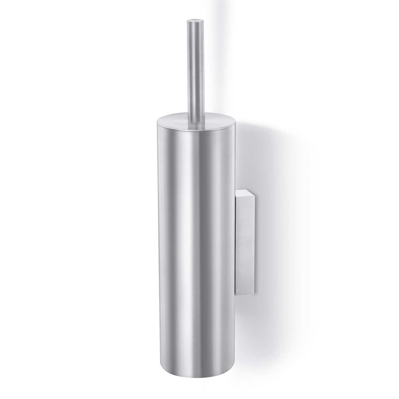 Zack toilettenb rste tubo edelstahl matt 40244 wc b rste - Wc burste wandmontage ...