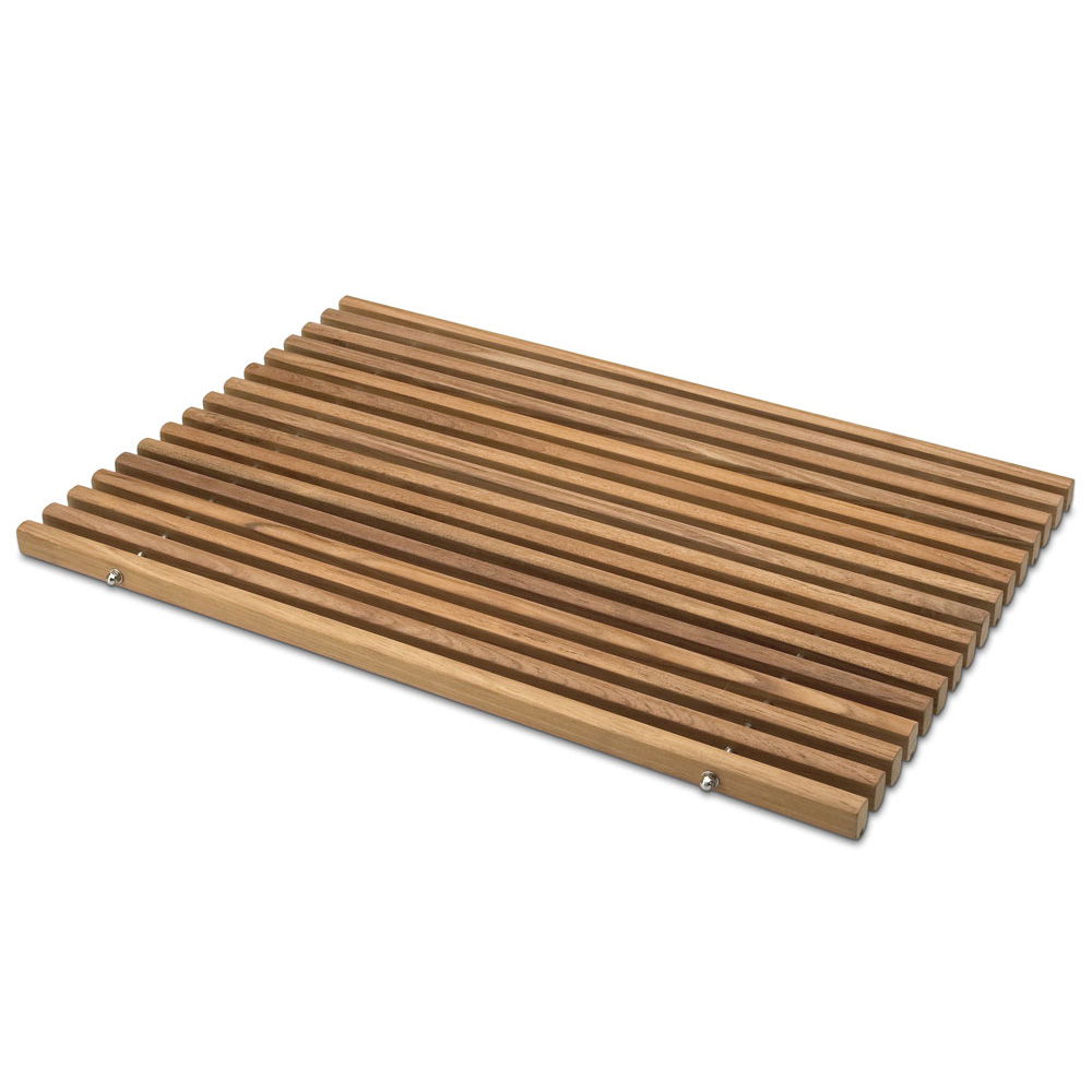 Badezimmer Matte Skagerak Teak Holz Badezimmermatte Vorleger Holzmatte