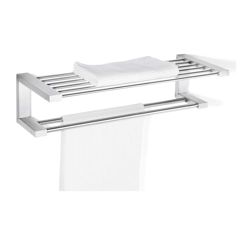 zack handtuchablage fresco edelstahl matt 40145 handtuchhalter handtuchstange ebay. Black Bedroom Furniture Sets. Home Design Ideas