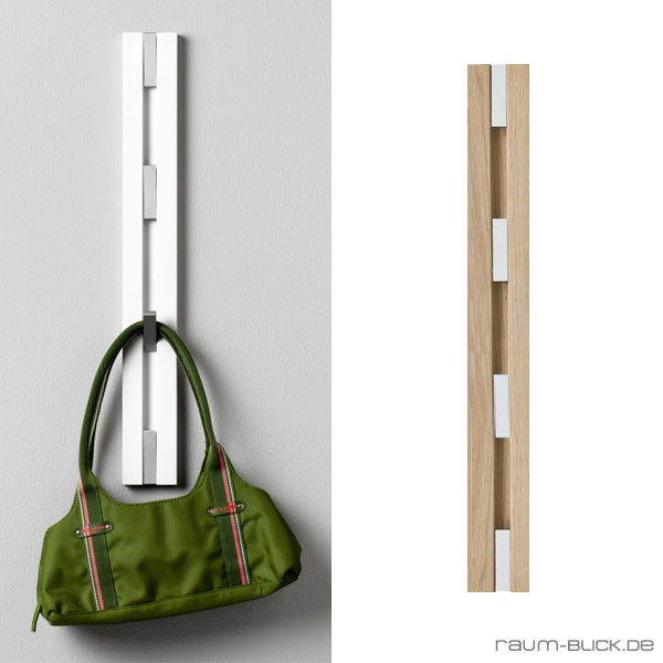 loca knax garderobe senkrecht wandgarderobe garderobenleiste ebay. Black Bedroom Furniture Sets. Home Design Ideas