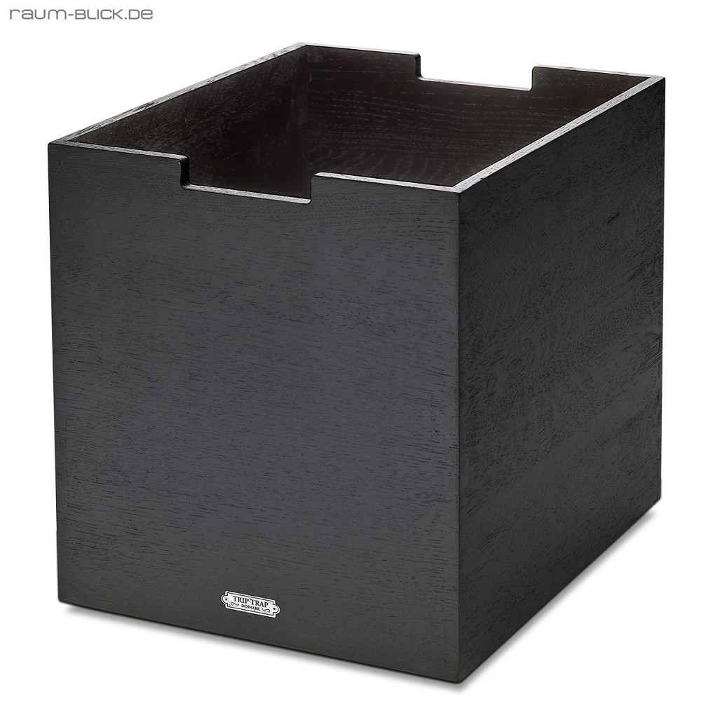 cutter box gro schwarz skagerak holz holzkiste holzbox ebay. Black Bedroom Furniture Sets. Home Design Ideas