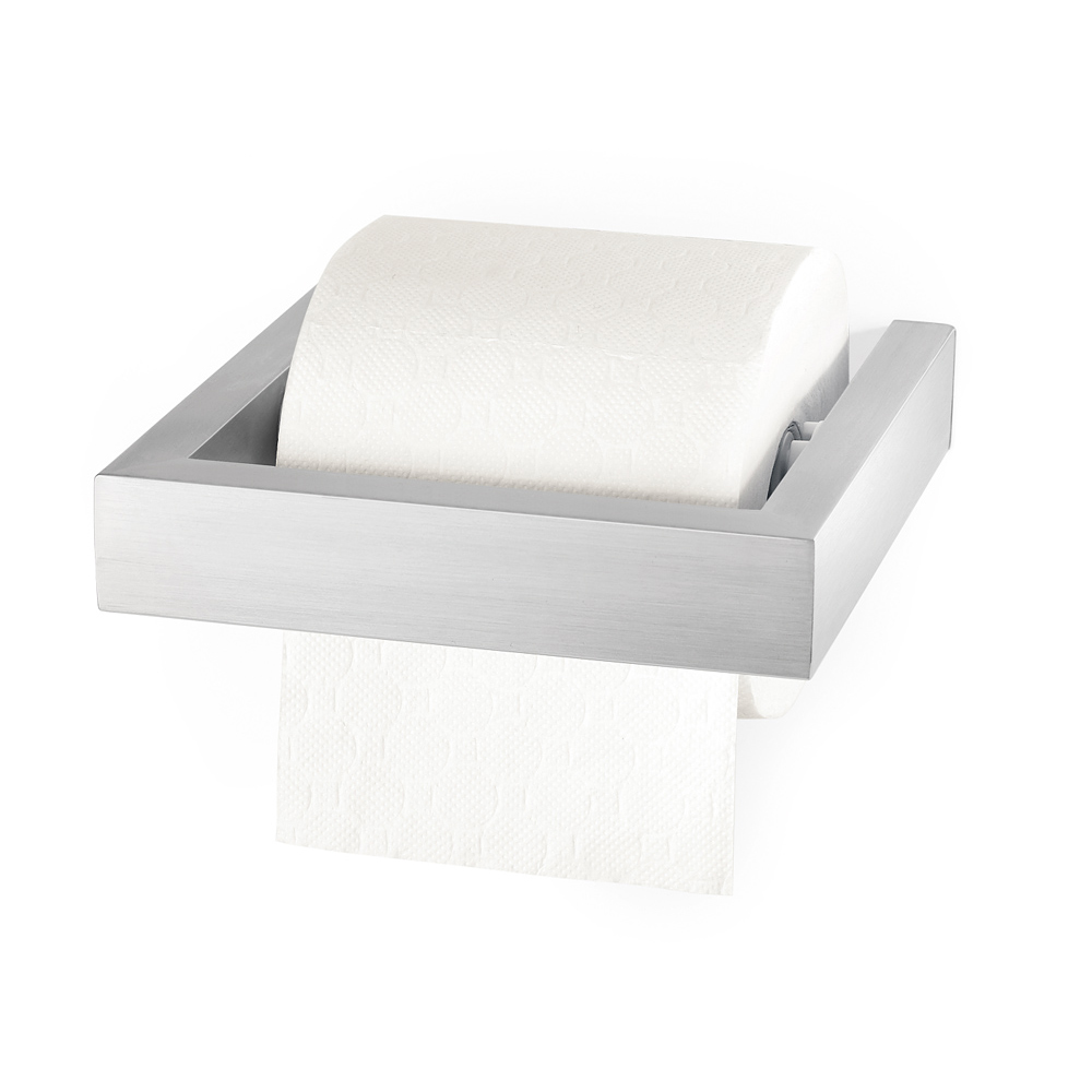 zack toilettenpapierhalter linea edelstahl matt 40386 ebay. Black Bedroom Furniture Sets. Home Design Ideas