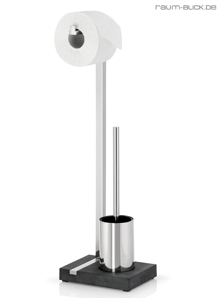 blomus menoto toilettenbutler edelstahl poliert f r 1 wc. Black Bedroom Furniture Sets. Home Design Ideas