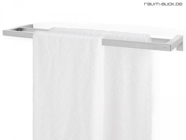 blomus menoto doppel handtuchstange 64 cm edelstahl matt 68680 handtuchhalter ebay. Black Bedroom Furniture Sets. Home Design Ideas