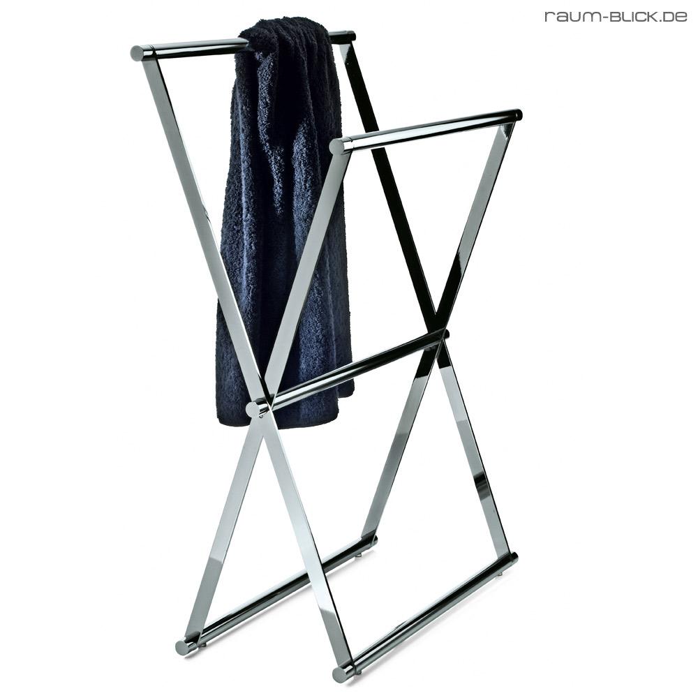 handtuchst nder cross 2 decor walther chrom handtuchhalter zusammenklappbar ebay. Black Bedroom Furniture Sets. Home Design Ideas