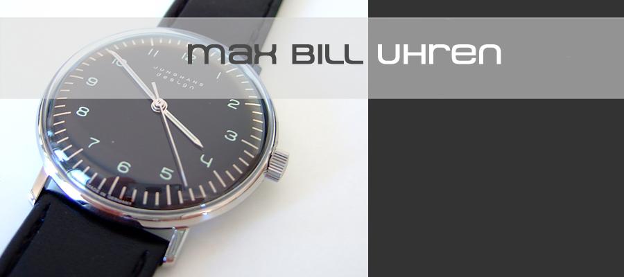 Max Bil Uhren