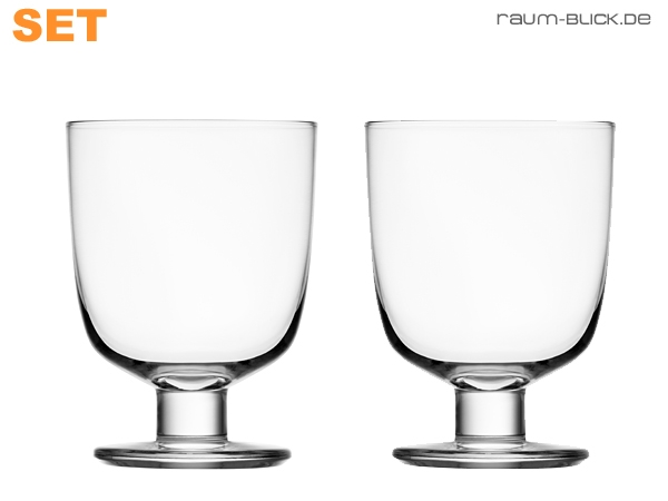 iittala lempi glas 2er set klar 34 cl weinglas wasserglas. Black Bedroom Furniture Sets. Home Design Ideas