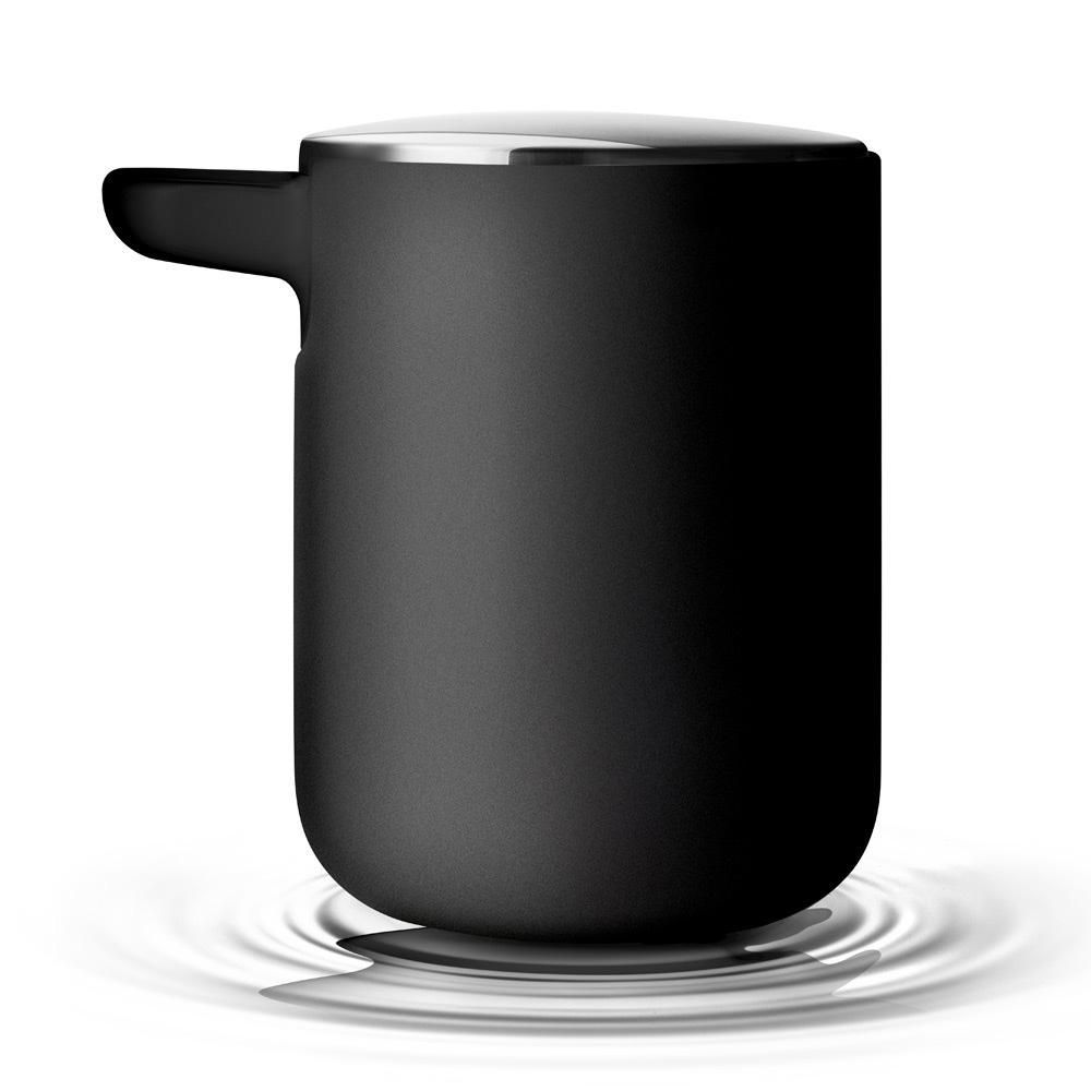 menu norm seifenspender schwarz lotionspender bad ebay. Black Bedroom Furniture Sets. Home Design Ideas