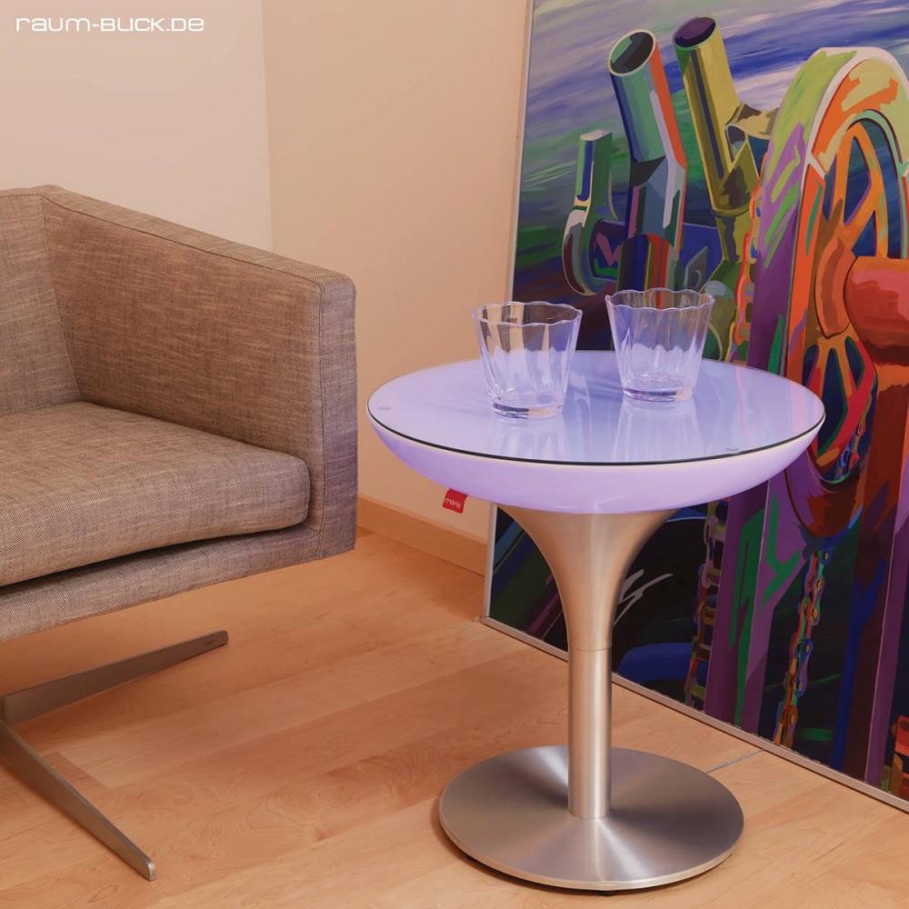 moree lounge s led tisch indoor couchtisch beistelltisch. Black Bedroom Furniture Sets. Home Design Ideas