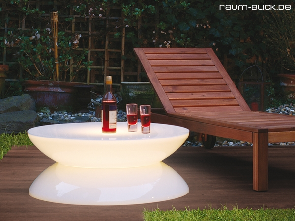 moree lounge tisch outdoor beistelltisch beleuchtet neu ebay. Black Bedroom Furniture Sets. Home Design Ideas