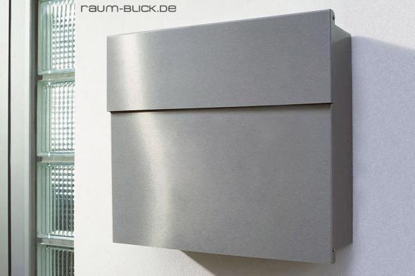 letterman briefkasten 4 edelstahl radius design. Black Bedroom Furniture Sets. Home Design Ideas