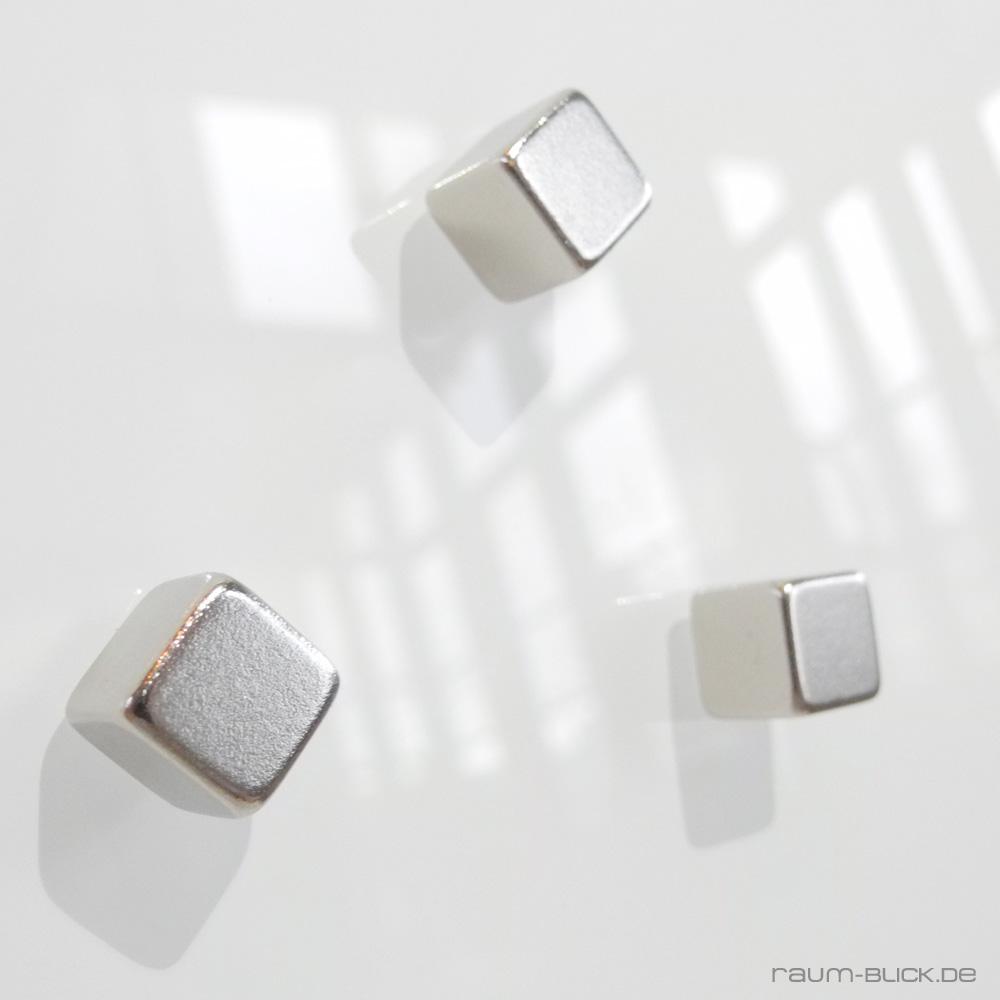 5 neodym magnet eckig f r glas magnettafel magnetboard magnetwand memoboard ebay. Black Bedroom Furniture Sets. Home Design Ideas