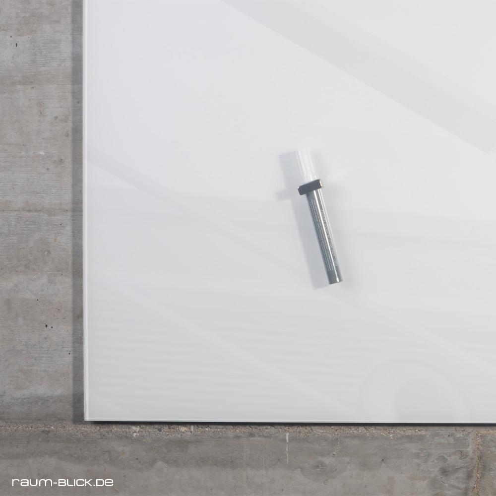 raum blick glas magnettafel max 100x60 cm wei magnetwand magnetboard whiteboard ebay. Black Bedroom Furniture Sets. Home Design Ideas