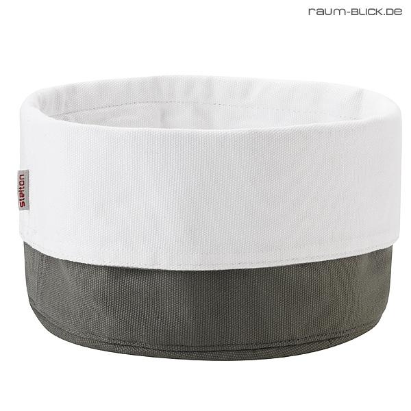 stelton brotkorb brottasche milano khaki 1350 2 ebay. Black Bedroom Furniture Sets. Home Design Ideas