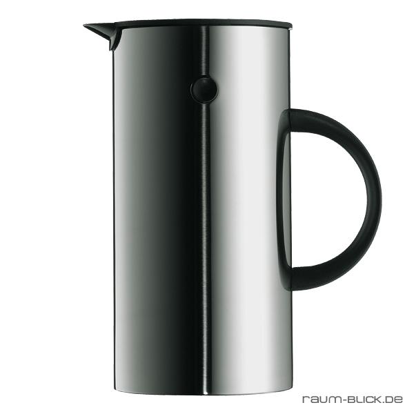 stelton kaffeebereiter edelstahl kaffeekanne isolierkanne. Black Bedroom Furniture Sets. Home Design Ideas