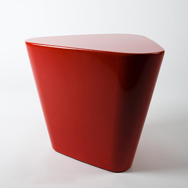 Design tisch tribe rot indoor outdoor f r ball chair for Design tisch rot