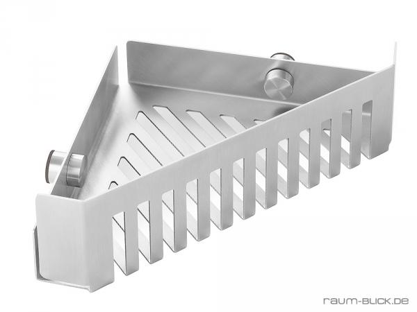 zack cargo eck duschkorb edelstahl 40411 badablage ablage duschablage duschkorb ebay. Black Bedroom Furniture Sets. Home Design Ideas