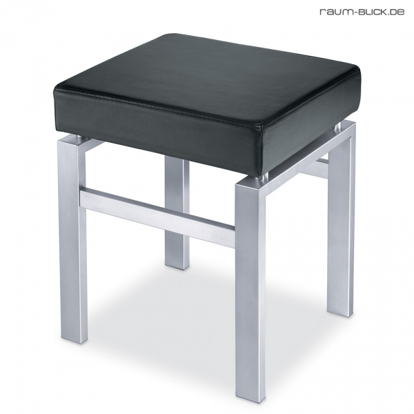zack hocker schwarz madrio edelstahl matt leder 50754 bad. Black Bedroom Furniture Sets. Home Design Ideas