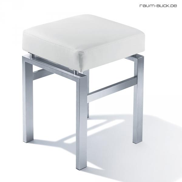 zack hocker wei madrio edelstahl matt leder 50756 bad. Black Bedroom Furniture Sets. Home Design Ideas