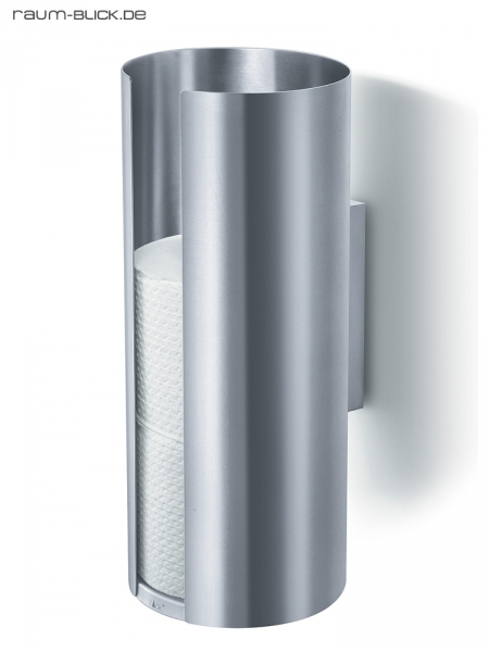 zack ersatzrollenhalter tubo toilettenpapierhalter wc rolle edelstahl matt 40243 ebay. Black Bedroom Furniture Sets. Home Design Ideas