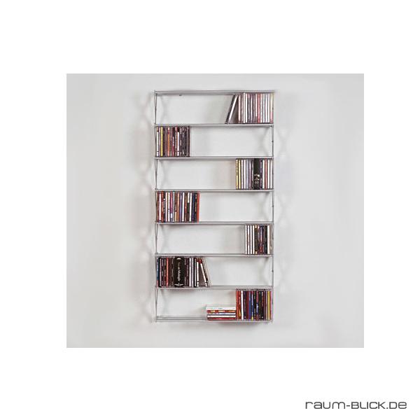 patte stretch dvd regal lang schmal 8 f cher 128 dvds. Black Bedroom Furniture Sets. Home Design Ideas