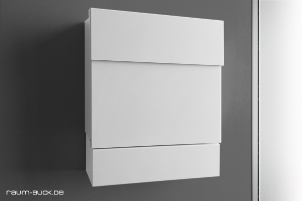 letterman briefkasten 5 edelstahl radius design ebay. Black Bedroom Furniture Sets. Home Design Ideas