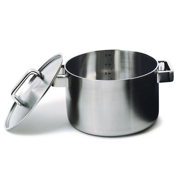 Tools Kochtöpfe Edelstahl gebürstet