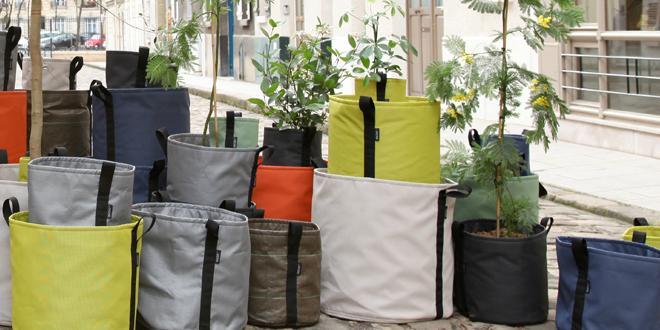 Moderne Pflanzgefäße Terrasse kreative pflanzgefäße raum blick magazin
