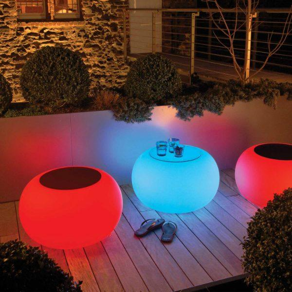 moree Bubble LED indoor outdoor dimmbar inklusive Fernbedienung