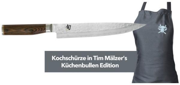 KAI Europe Set Schinkenmesser TDM-1704 + Kochschürze