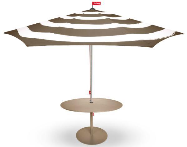 Fatboy Stripesol Sonnenschirm Tisch Formitable XL Zug-Mechanismus