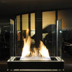 radius design Bioethanol Kamin TOP FLAME