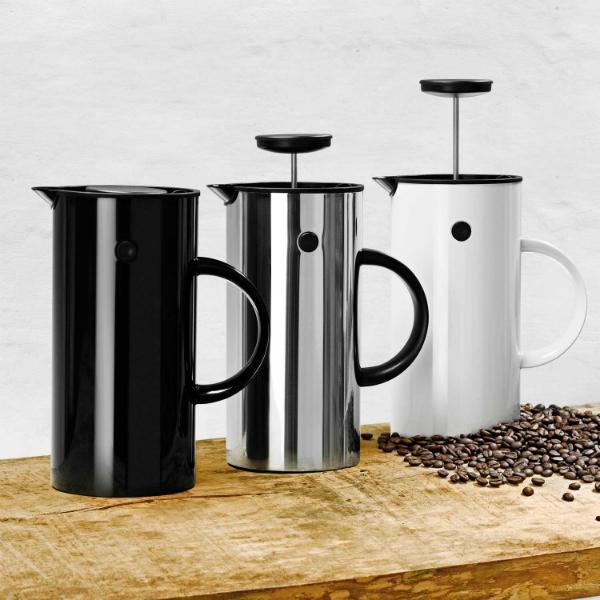 stelton Kaffeezubereiter Stahl Kunststoff Volumen 8 Tassen