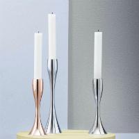 stelton Reflection Kerzenständer Edelstahl Höhe 17 cm oder 23 cm