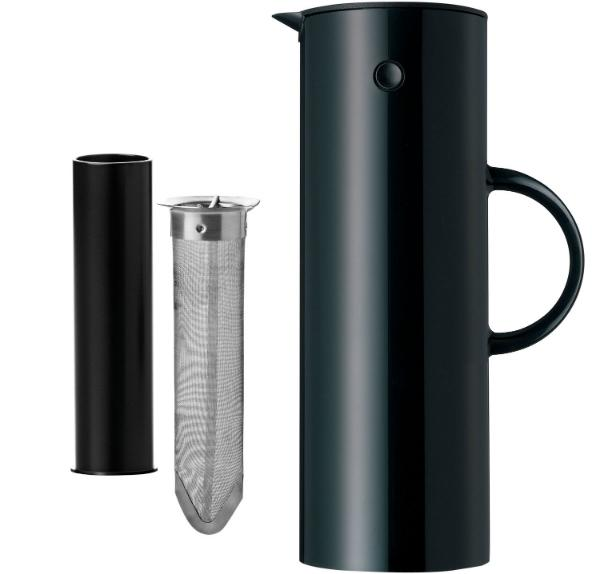 stelton-isolierkanne-teesieb-wippverschluss-schwarz-1-liter