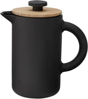stelton-theo-kaffeezubereiter-stempelkanne-pressfilterkanne-steinzeug-mattschwarz