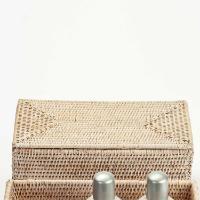Decor Walther Serie Basket Utensilienbehälter mit Deckel