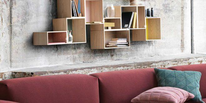 Das Wohnzimmer Im Skandinavischen Stil. «