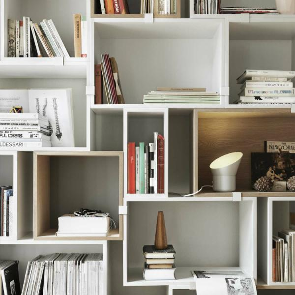 Muuto Stacked Regalsystem weiß
