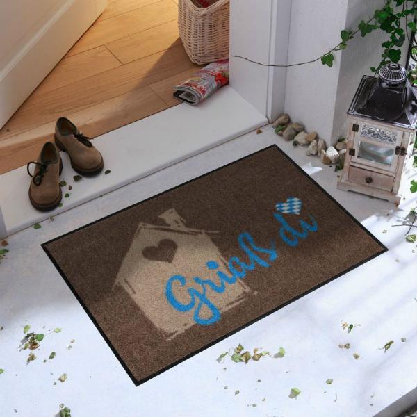 Salonlöwe Griaß di Fußmatte für drinnen und draußen