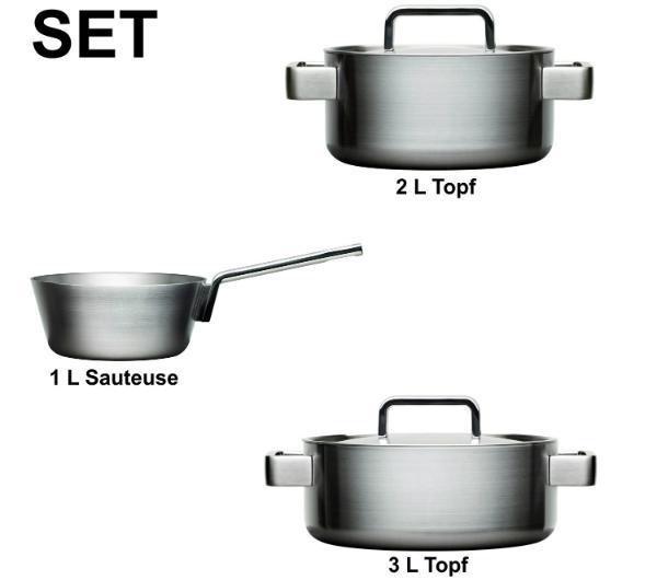 iittala Tools 3er Kochtopf-Set