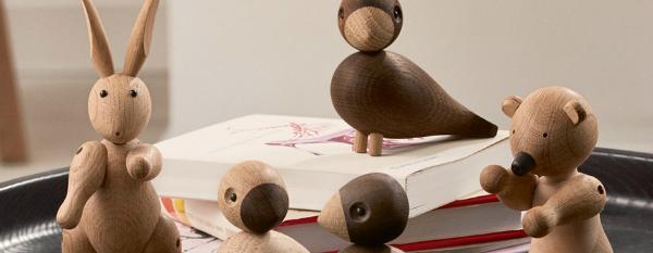 Holz-Figuren von Kay Bojesen