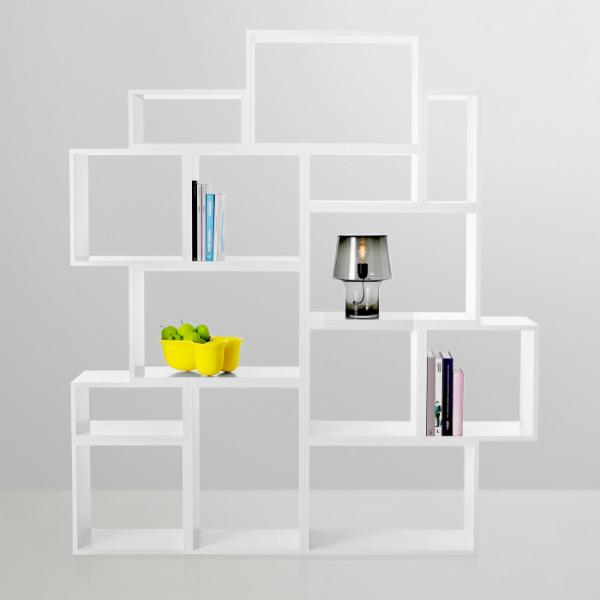 Flexibles Regalsystem Muuto Stacked Weiss