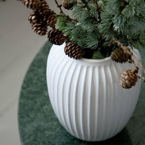 Hammershoi Vase gross weiss von Kaehler