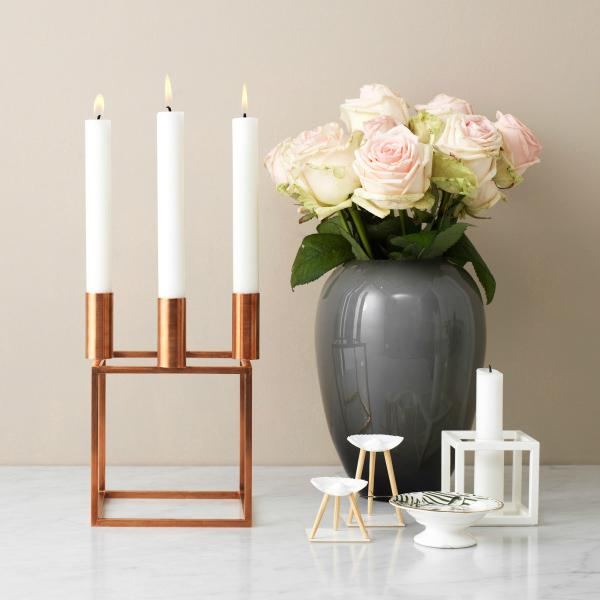 by lassen kubus kerzenst nder raum blick magazin. Black Bedroom Furniture Sets. Home Design Ideas